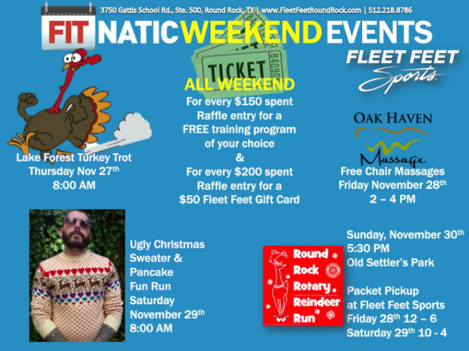 Fitnatic Weekend Events